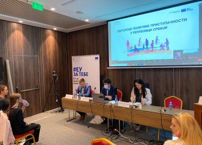 Evropske politike pristupačnosti  u Srbiji